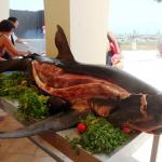 """Hotel Iberostar Safira Palms à Zarzis vous sert un """"Barbecue Requin"""""""