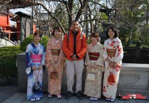Rencontre Kimono Asakusa - Tokyo