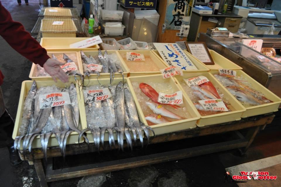Marché de poisson Shizuoka japon