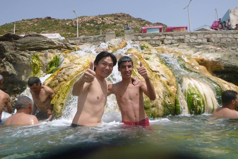 Japonais à Korbous