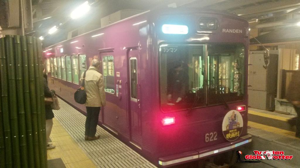 Keifuku Dentetsu Arashiyama Line Ran-den