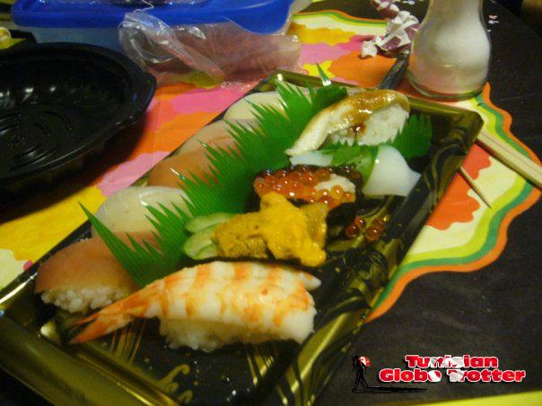 Sushi pas cher au Japon Kyoto
