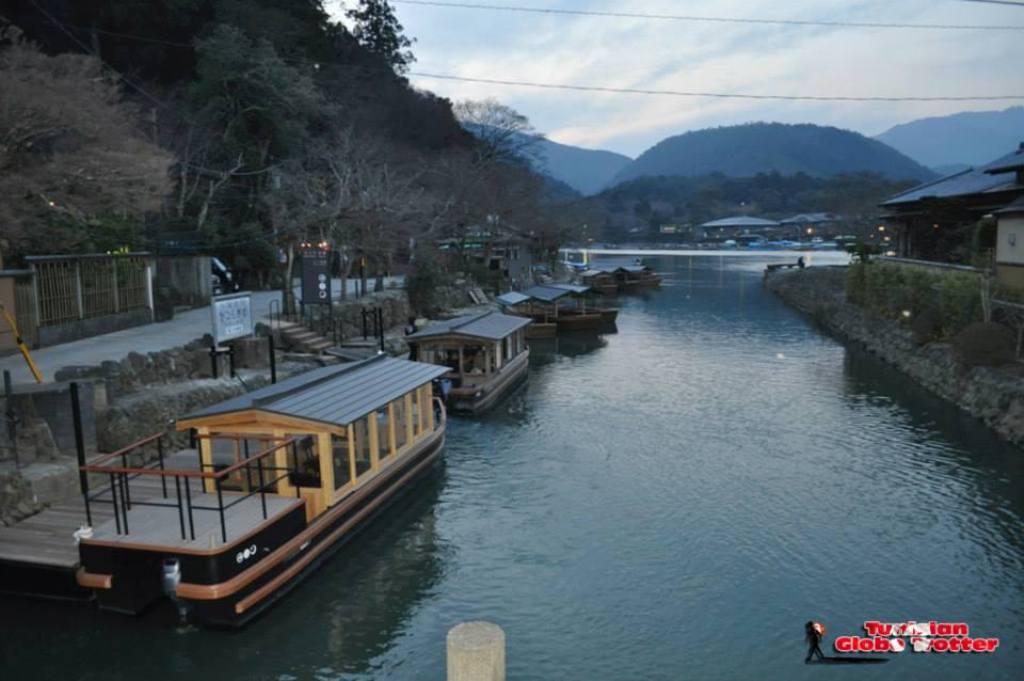fleuve Sagakameno Arashiyama Kyoto