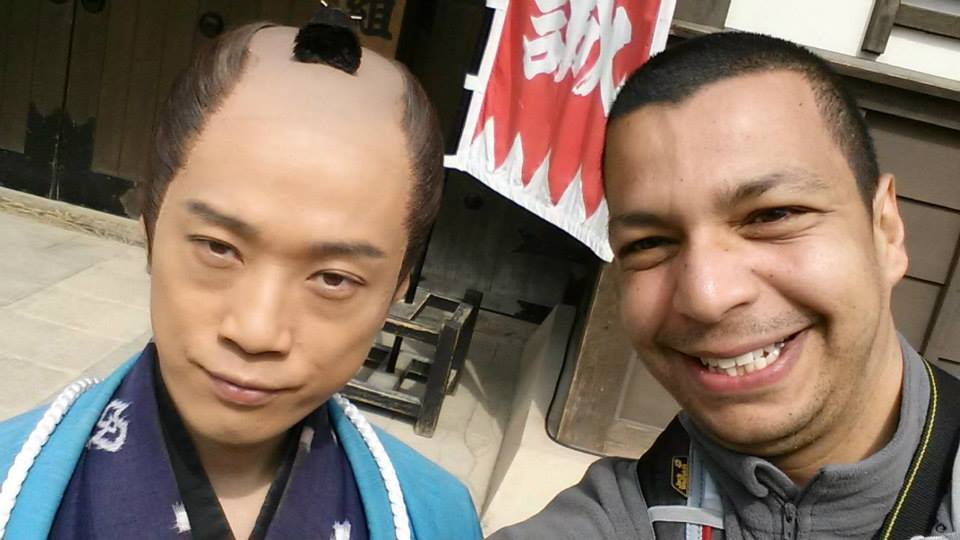 Selfie Samurai Toei Studio Kyoto Japon