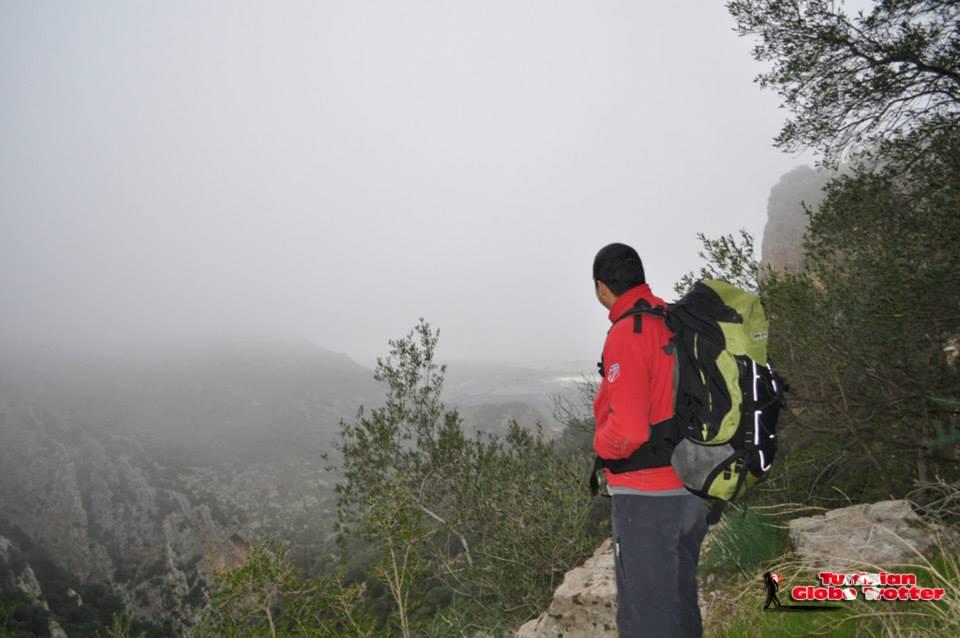Vue a Oued EL Guelb